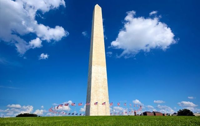 A plaque commemorating Ireland's 1916 Easter Rising has been unveiled at the Washington Monument.