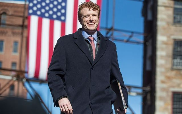 Representative Joseph P Kennedy III is in a good position to win his seat.