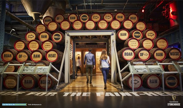 There is so much in store behind Dublin\'s St. James\' Gate, at Guinness Storehouse.