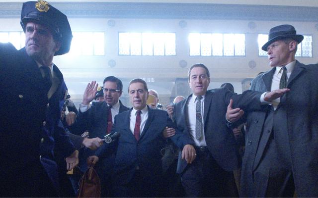 "\""The Irishman\"" from Martin Scorsese, starring Robert de Niro and Al Pacino. \n"
