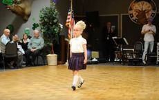 WATCH: Adorable 4-year-old Irish dancer wows the crowd at St. Patrick's Day show