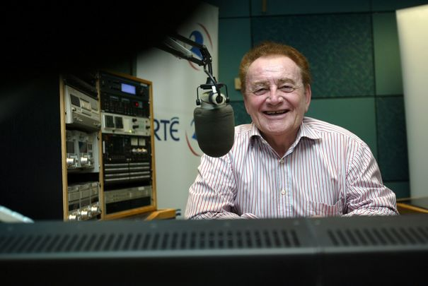 RIP Larry Gogan, a pop music radio hero.