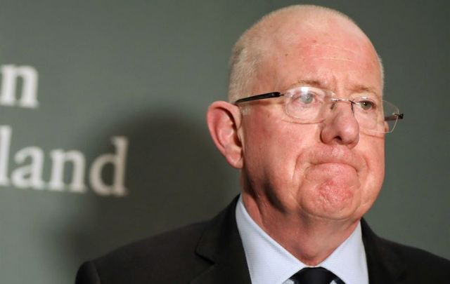 """Minister for Justice Charlie Flanagan announced the event\'s \""""deferral\"""" on January 7."""