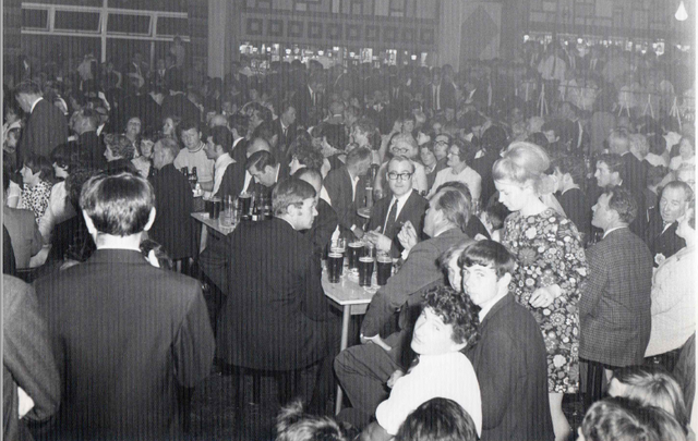 The evening of the opening day of Leeds Irish Center, on June 8, 1970.