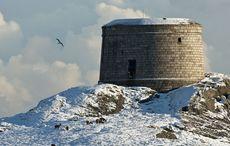 Thumb martello tower dublin winter getaway getty