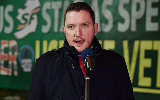 John Finucane: Sinn Fein Member of Parliament for North Belfast.