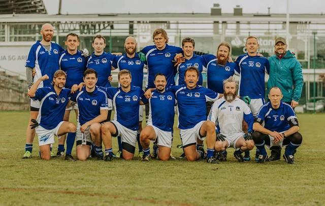The international and Irish team, Helsinki Harps, from Finland.