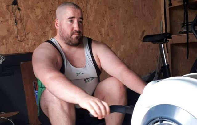 Co Limerick man Shane Ryan in training for the Atlantic Rowing Challenge 2020.