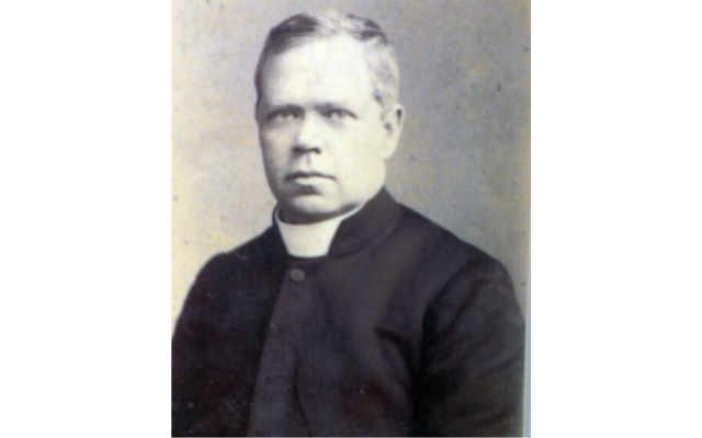 "Canon James McFadden, aka ""The fighting priest of Gweedore\""."