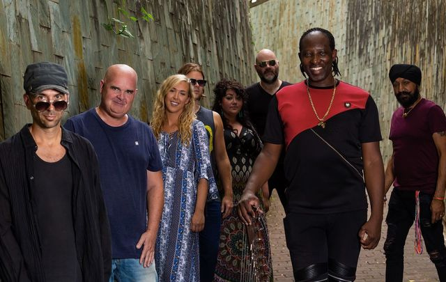 Afro Celt Sound System play the Olympia.