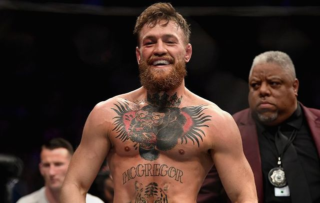 Ultimate Fighting Champ, Conor McGregor.