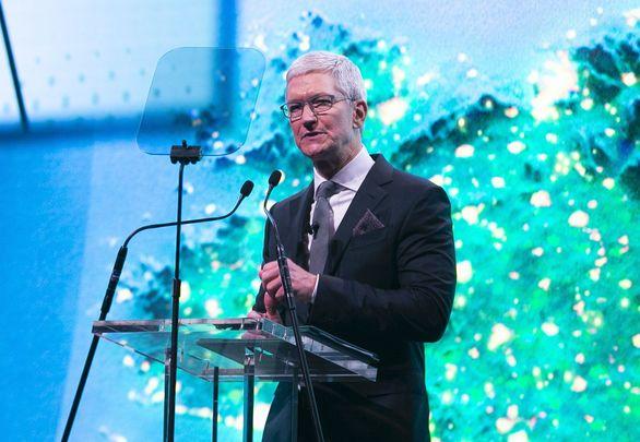 Apple boss, Tim Cook.