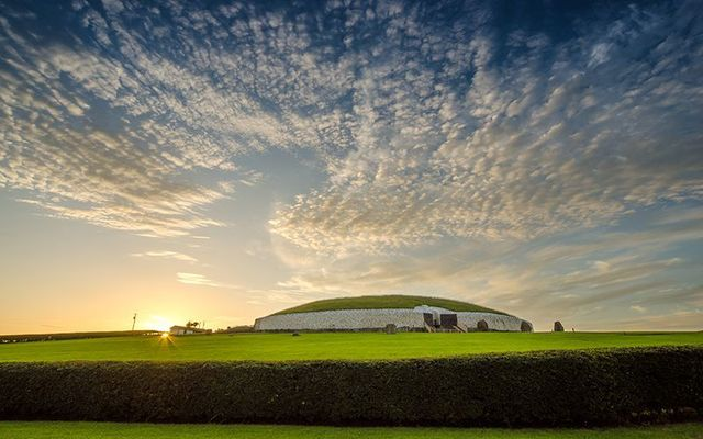 The Neolithic tomb of Newgrange, in the Boyne Valley, County Meath.