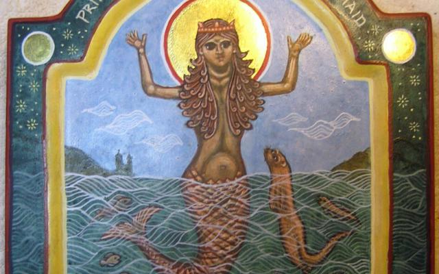 Li Ban, Ireland\'s Mermaid Saint, whose holy day is celebrated on Jan 27.