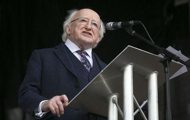 Irish President Michael D. Higgins warns of rising extremism in Europe