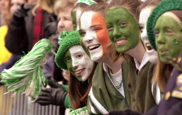 Metropolitan regions in the Northeast of the US have the largest amount of people reporting Irish ancestry.