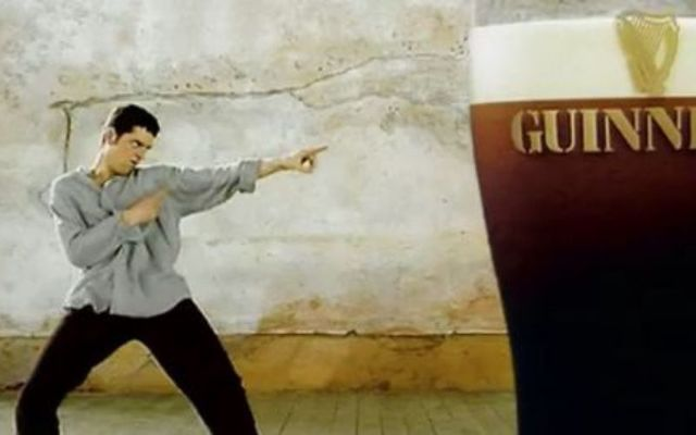 Guinness\' Dancing Man commercial is one of the most famous ever produced in Ireland.