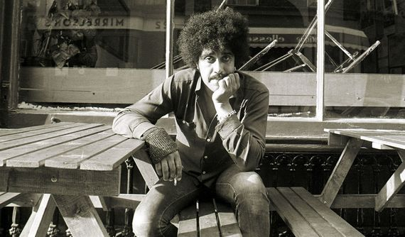 The late great Phil Lynott, whose band Thin Lizzie did one of the most famous covers of Whiskey in the Jar.