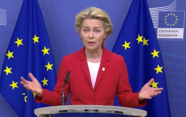 October 1, 2020: Ursula von der Leyen, president of the European Commission, announces that a formal letter has been issued to the UK for its apparent breach of the Withdrawal Agreement.