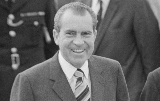 President Richard Nixon on October 3, 1970.