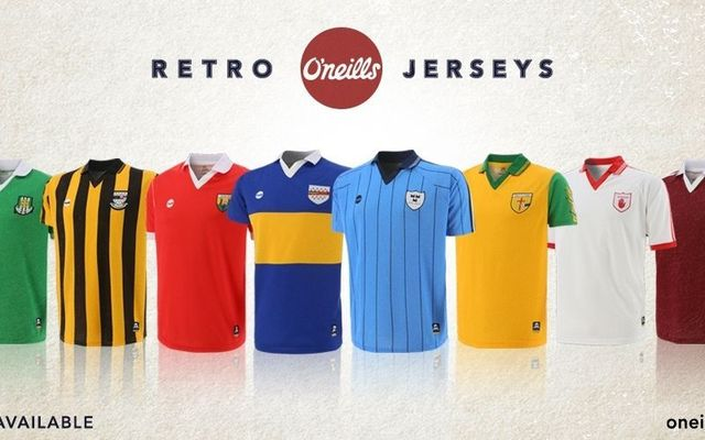 O\'Neills have launched these beautiful retro jerseys.