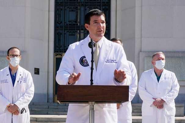White House physician Sean Conley.