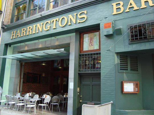 Harrington\'s Bar and Grill is the latest victim of the COVID-19 pandemic.
