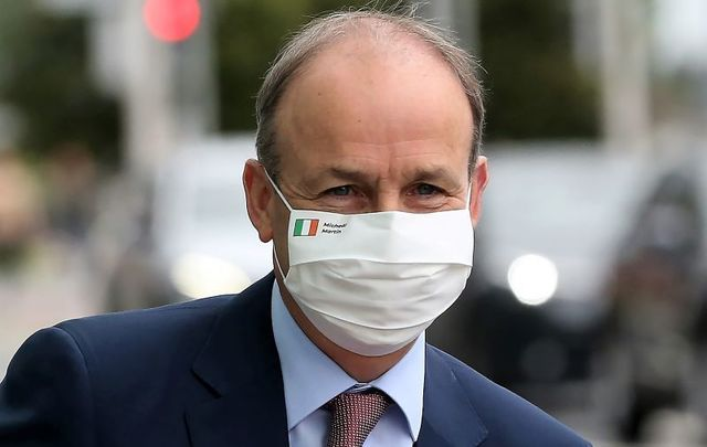 Taoiseach Micheal Martin.