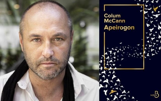 Apeirogon by Colum McCann.