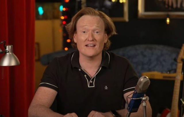 Conan O\'Brien wants to make sure you\'re registered to vote for the US presidential election.