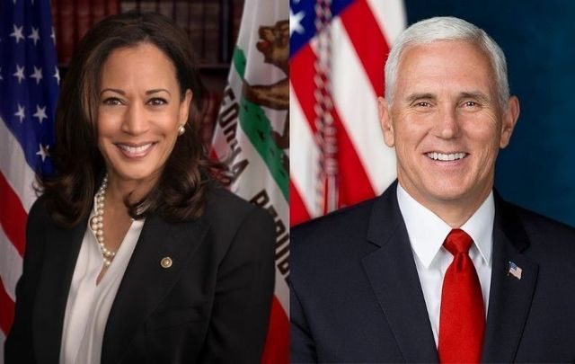 Senator Kamala Harris and Vice President Mike Pence meet in their first debate on October 7.