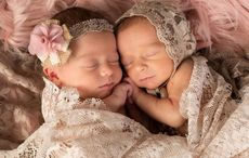 Belfast Mom who was ventilated with COVID gives birth to twin girls