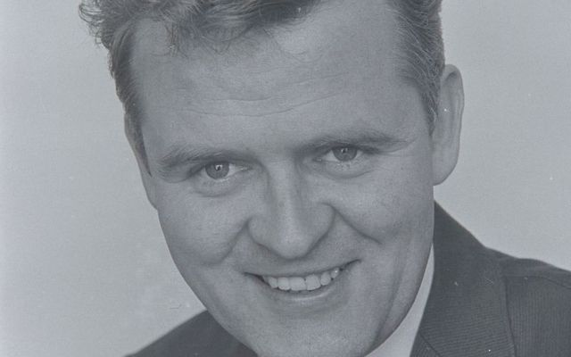 A portrait of Irish photojournalist Eamon Kennedy.