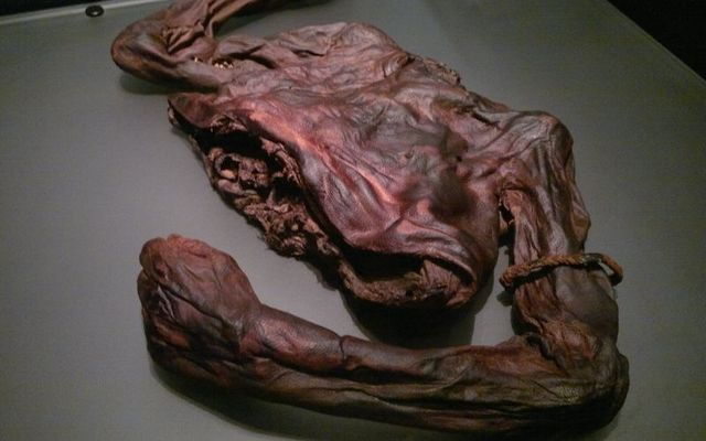The Old Croghan Man was found decapitated and disemboweled.