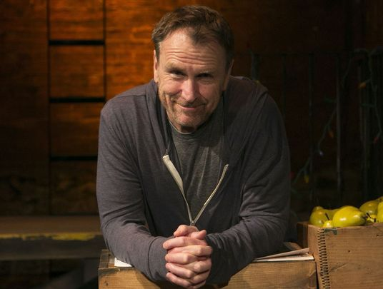 Irish American comedian and writer Colin Quinn.