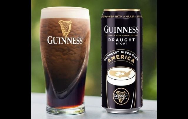 The special edition Guinness Give Back can.