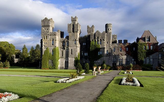 Ashford Castle in Cong, County Mayo.