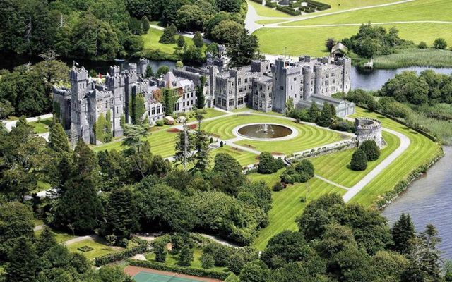 Ashford Castle, in Cong, County Mayo.