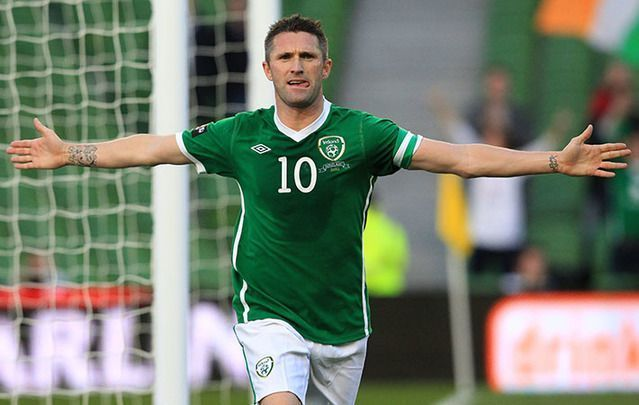 Keane is Ireland\'s leading international goalscorer with 68 goals.
