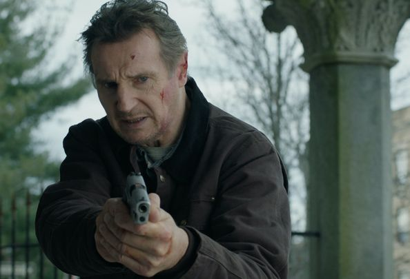 "Liam Neeson in the \""Honest Thief.\"""