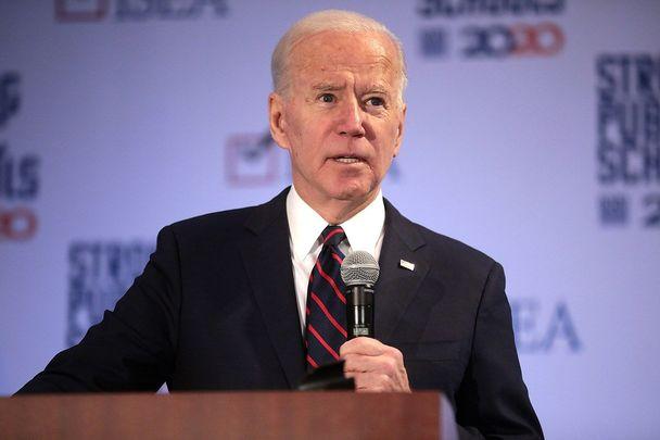 Presidential hopeful and proud Irish Catholic Joe Biden.
