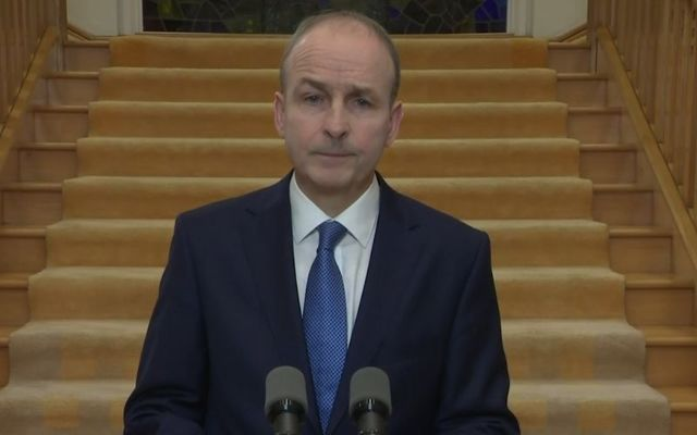 Taoiseach Micheál Martin announced the new restrictions on Monday evening.