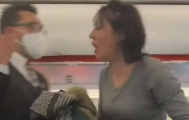 """""""Everybody dies"""": Maskless woman thrown off Belfast flight for fake coughing"""