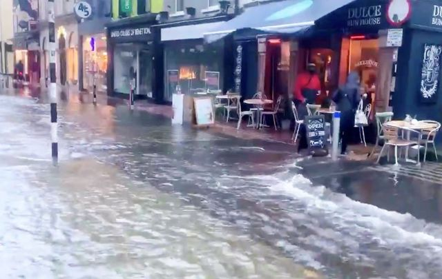 October 20, 2020: Flooding strikes Cork city.