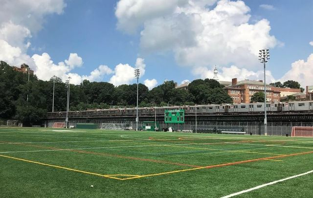Gaelic Park in the Bronx, the home of the GAA in New York.