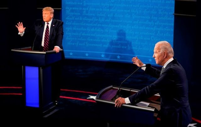 September 29, 2020: President Trump and former Vice President Biden meet in their first presidential debate.
