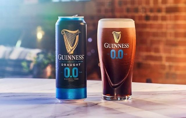 Guinness 0.0 has no alcohol.