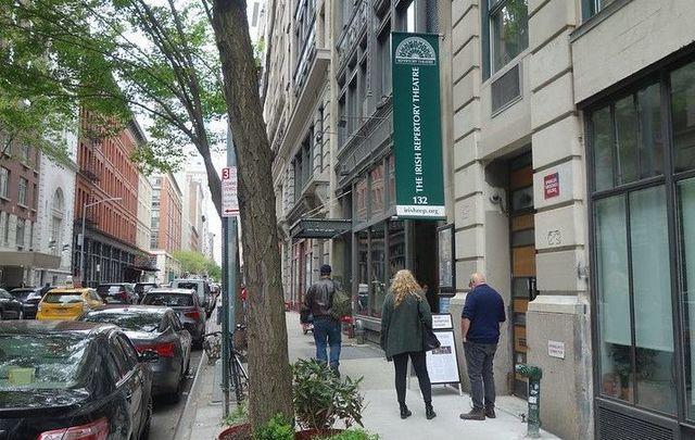 The Irish Rep in Manhattan.