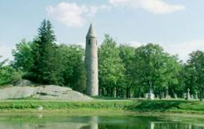 The Irish round tower built by immigrants in Massachusetts