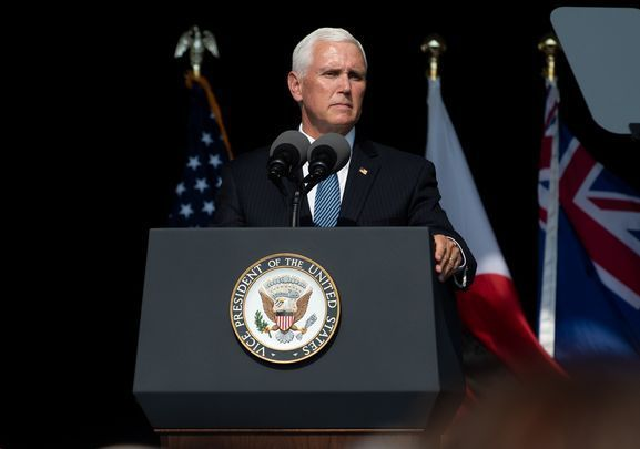 Vice President Mike Pence has been a proponent of not wearing a mask.